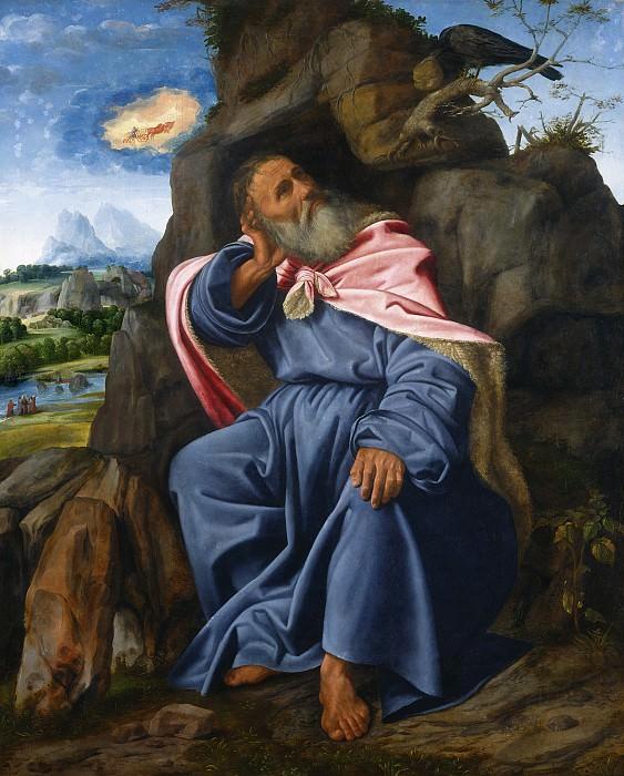Giovanni Girolamo Savoldo - Elijah Fed by the Raven. National Gallery of Art (Washington)
