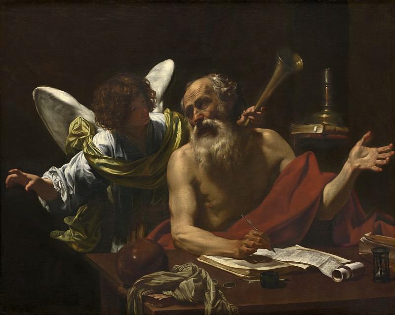 Simon Vouet - Saint Jerome and the Angel. National Gallery of Art (Washington)