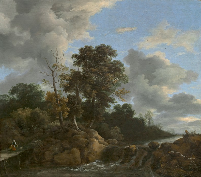Jacob van Ruisdael - Landscape. National Gallery of Art (Washington)