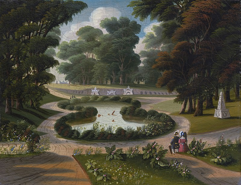 Thomas Chambers - Mount Auburn Cemetery. National Gallery of Art (Washington)