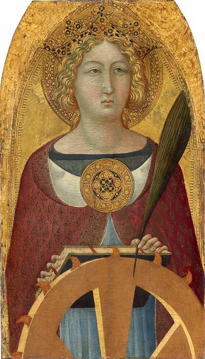 Ugolino Lorenzetti - Saint Catherine of Alexandria. National Gallery of Art (Washington)
