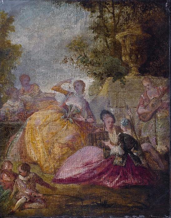 French 18th Century - Divertissement. National Gallery of Art (Washington)