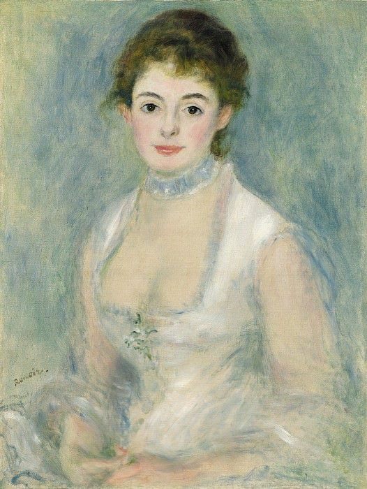Auguste Renoir - Madame Henriot. National Gallery of Art (Washington)