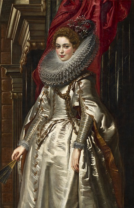 Sir Peter Paul Rubens - Marchesa Brigida Spinola Doria. National Gallery of Art (Washington)