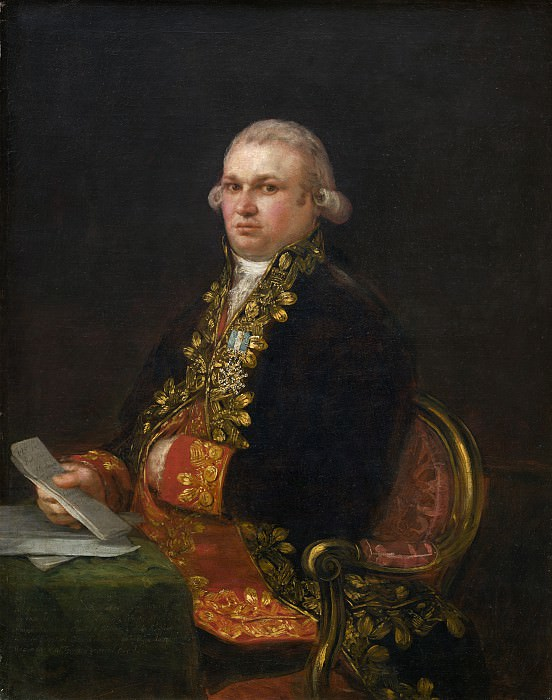 Francisco de Goya - Don Antonio Noriega. National Gallery of Art (Washington)