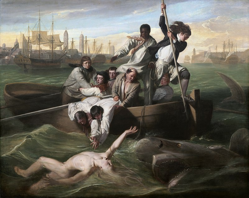 John Singleton Copley - Watson and the Shark. National Gallery of Art (Washington)