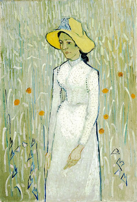 Girl in White. Vincent van Gogh
