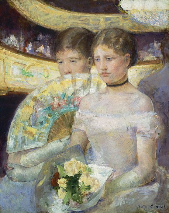 Mary Cassatt - The Loge. National Gallery of Art (Washington)