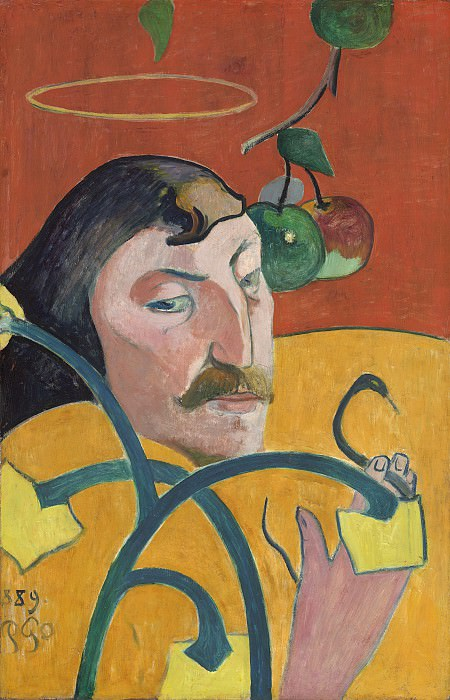 Paul Gauguin - Self-Portrait. National Gallery of Art (Washington)