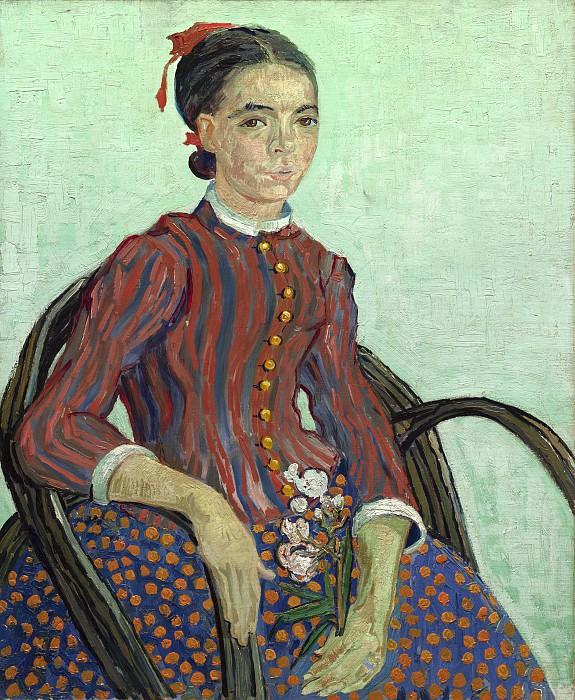 La Mousme. Vincent van Gogh