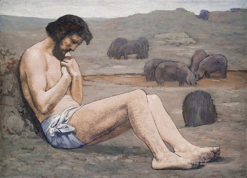 Pierre Puvis de Chavannes - The Prodigal Son. National Gallery of Art (Washington)