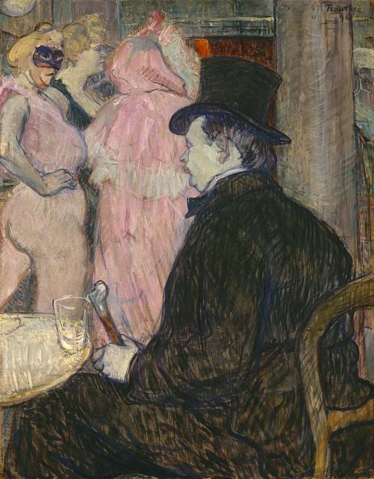 Henri de Toulouse-Lautrec - Maxime Dethomas. National Gallery of Art (Washington)