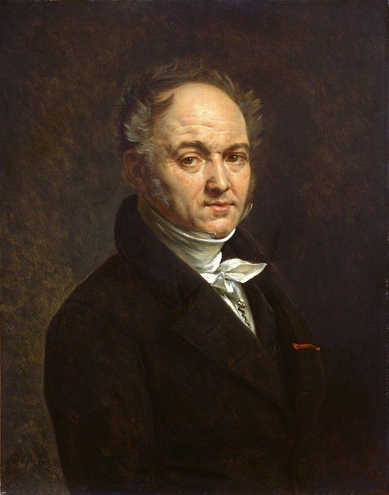 Antoine-Jean Gros - Dr. Vignardonne. National Gallery of Art (Washington)