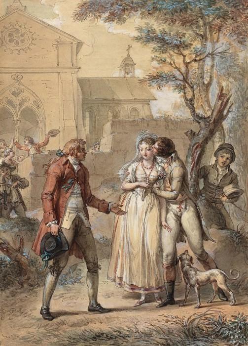Туз, Жак-Луи Франсуа - Возвращённый Поцелуй. Национальная галерея искусств (Вашингтон)