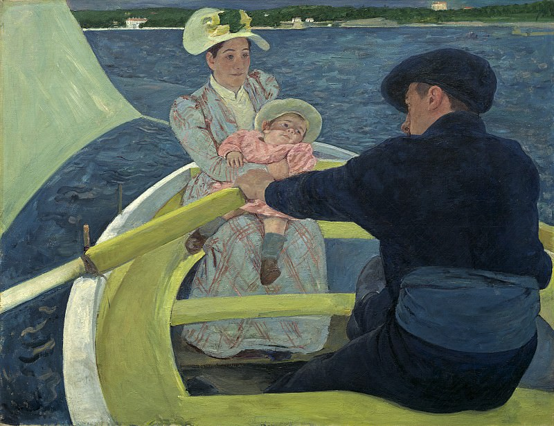 Mary Cassatt - The Boating Party. National Gallery of Art (Washington)
