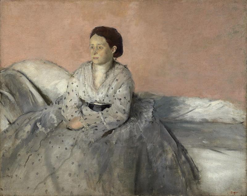 Edgar Degas - Madame Rene de Gas. National Gallery of Art (Washington)