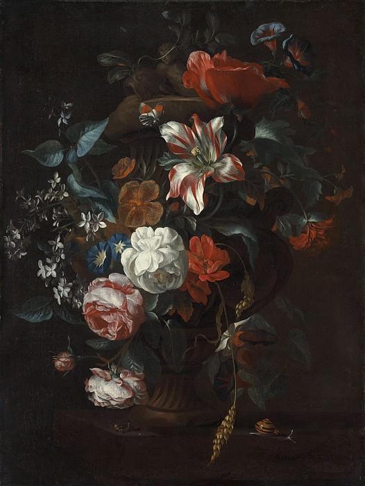 Philip van Kouwenbergh - Flowers in a Vase. National Gallery of Art (Washington)