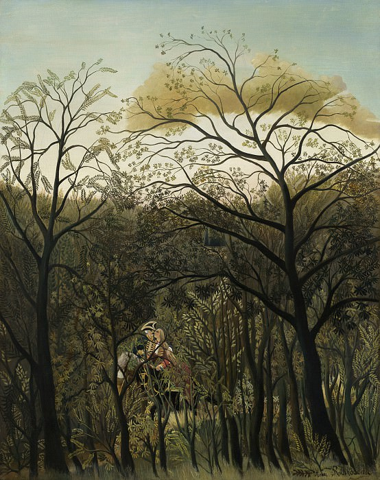 Henri Rousseau - Rendezvous in the Forest. National Gallery of Art (Washington)