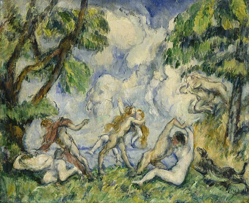 Paul Cezanne - The Battle of Love. National Gallery of Art (Washington)