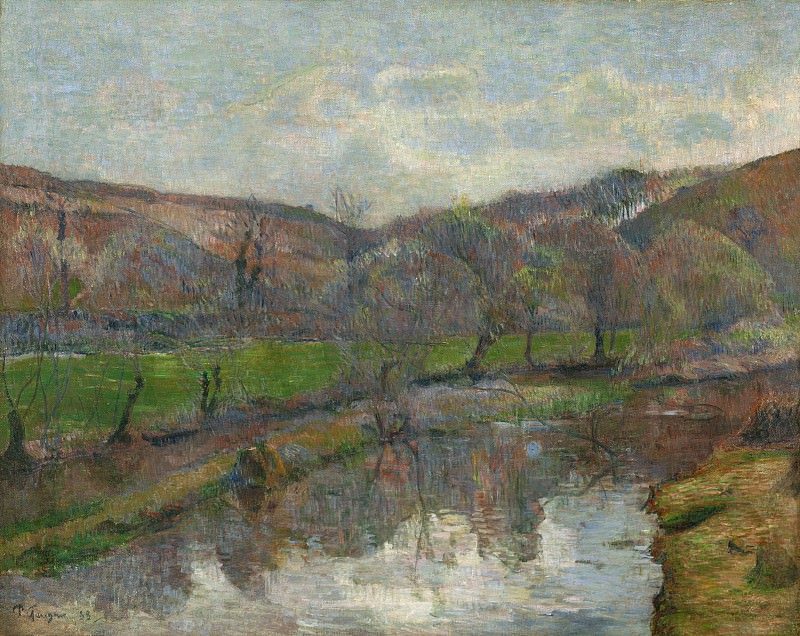 Paul Gauguin - Brittany Landscape. National Gallery of Art (Washington)