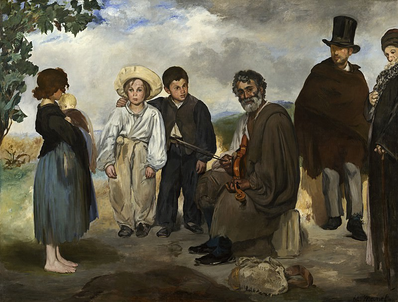 The Old Musician. Édouard Manet