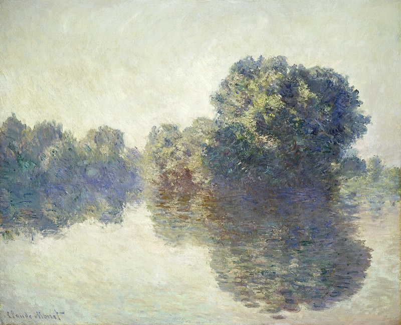 Claude Monet - The Seine at Giverny. National Gallery of Art (Washington)