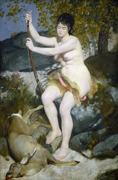 Ренуар, Огюст - Диана. Национальная галерея искусств (Вашингтон)