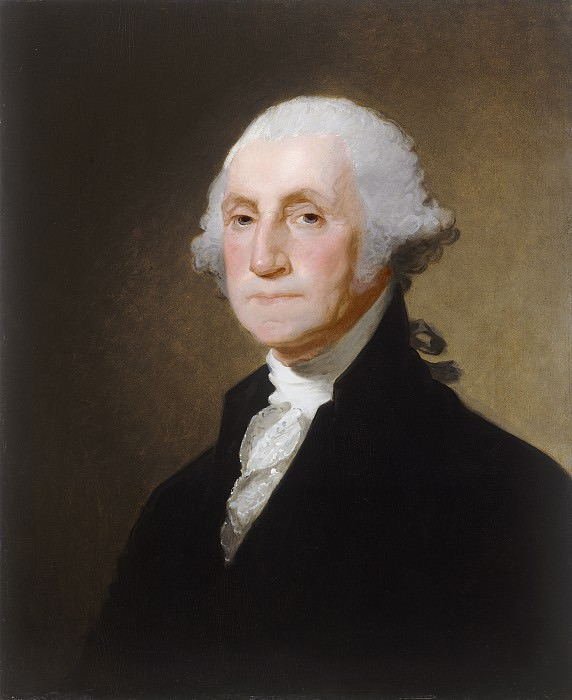 Gilbert Stuart - George Washington. National Gallery of Art (Washington)
