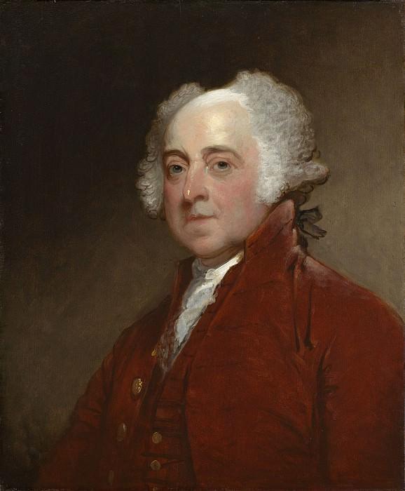 Стюарт, Гилберт - Джон Адамс. Национальная галерея искусств (Вашингтон)