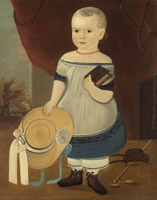 William Matthew Prior - Child with Straw Hat. National Gallery of Art (Washington)