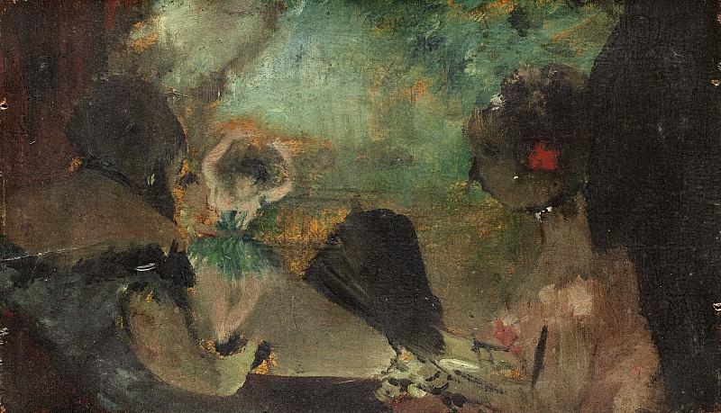 Edgar Degas - The Loge. National Gallery of Art (Washington)