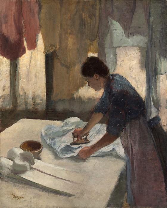Edgar Degas - Woman Ironing. National Gallery of Art (Washington)