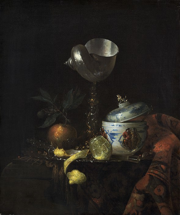 after Willem Kalf - Still Life with Nautilus Cup. National Gallery of Art (Washington)