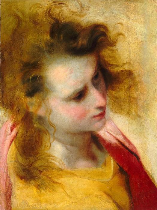 Federico Barocci - The Head of Saint John the Evangelist. National Gallery of Art (Washington)