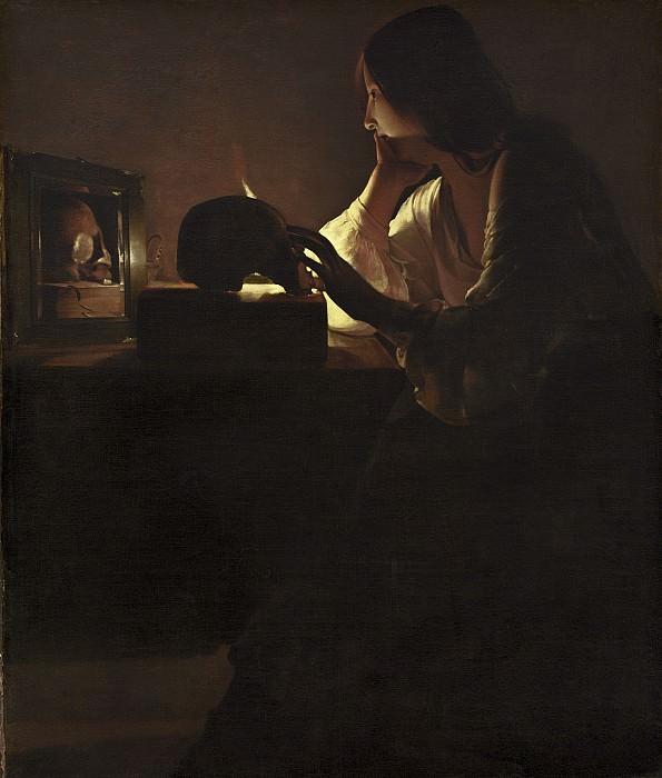 Georges de La Tour - The Repentant Magdalen. National Gallery of Art (Washington)