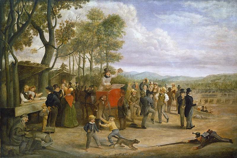 Грейнджер, Чарльз Генри - Соборный день. Национальная галерея искусств (Вашингтон)