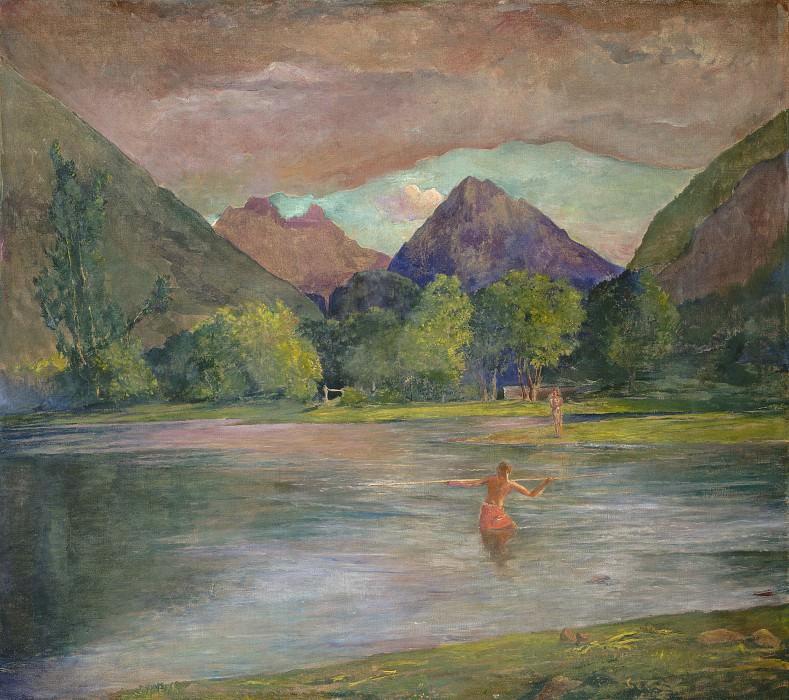 Ла Фарж, Джон - Река Тутира на Таити. Национальная галерея искусств (Вашингтон)