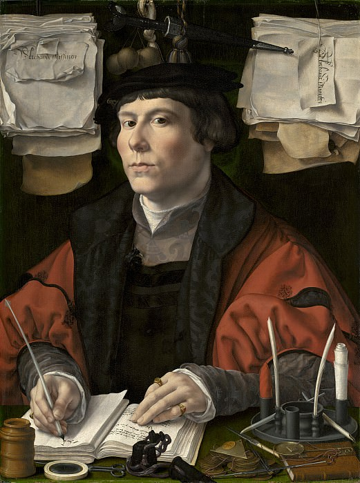 Jan Gossaert - Portrait of a Merchant. National Gallery of Art (Washington)