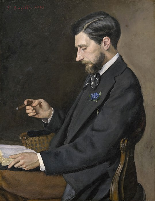 Frederic Bazille - Edmond Maitre. National Gallery of Art (Washington)