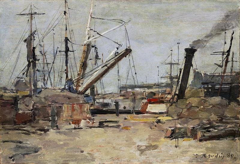 Eugene Boudin - The Trawlers. National Gallery of Art (Washington)