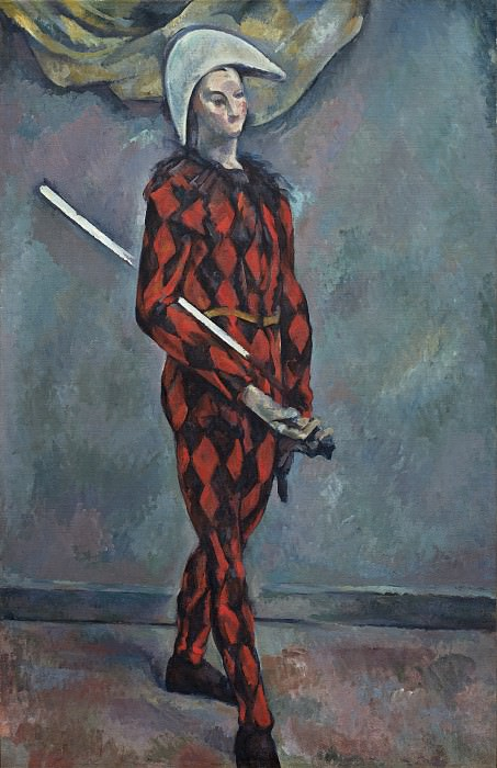 Paul Cezanne - Harlequin. National Gallery of Art (Washington)