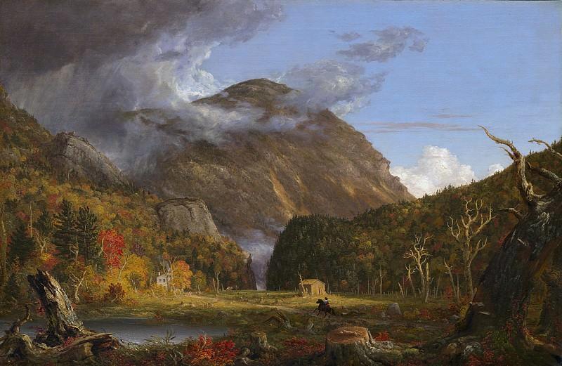 Коул, Томас - Вид на перевал Нотч (Кроуфорд Нотч в Белых горах). Национальная галерея искусств (Вашингтон)