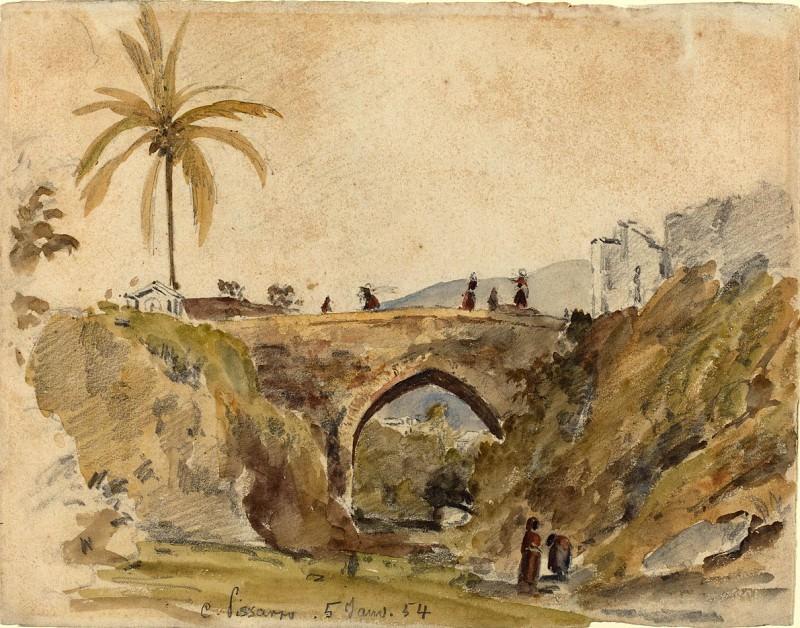 Писсаро, Камиль - Мост в Каракасе. Национальная галерея искусств (Вашингтон)