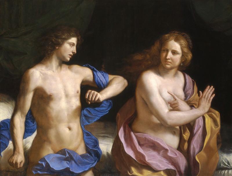 Giovanni Francesco Barbieri, called Guercino - Amnon and Tamar. National Gallery of Art (Washington)