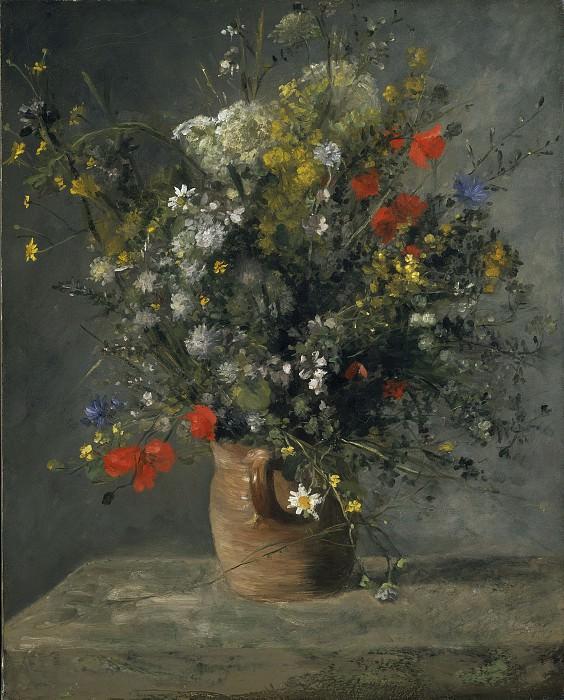 Auguste Renoir - Flowers in a Vase. National Gallery of Art (Washington)