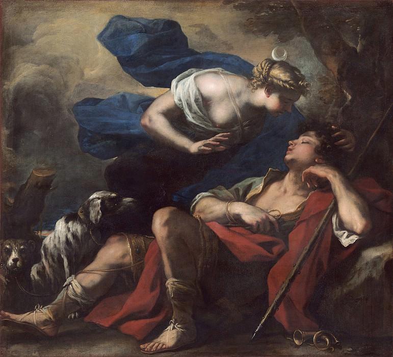 Luca Giordano - Diana and Endymion. National Gallery of Art (Washington)