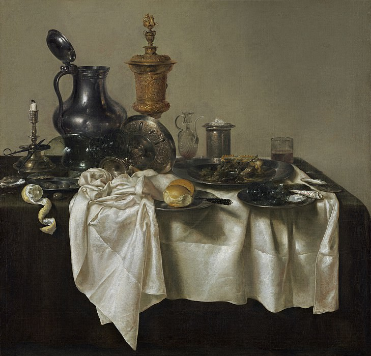 Willem Claesz Heda - Banquet Piece with Mince Pie. National Gallery of Art (Washington)