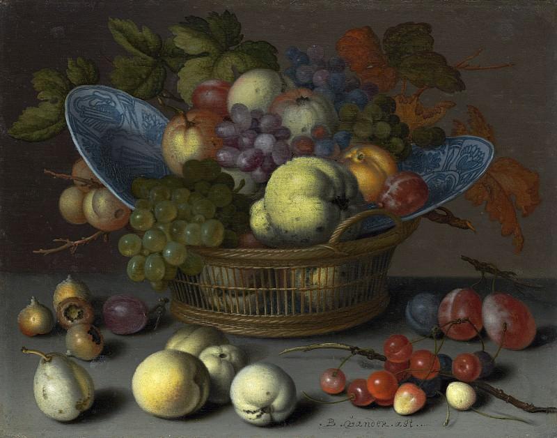 Аст, Бальтазар ван дер - Корзина с фруктами. Национальная галерея искусств (Вашингтон)