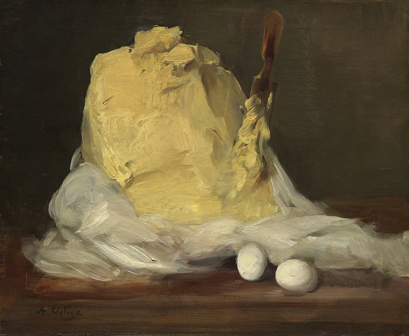 Antoine Vollon - Mound of Butter. National Gallery of Art (Washington)
