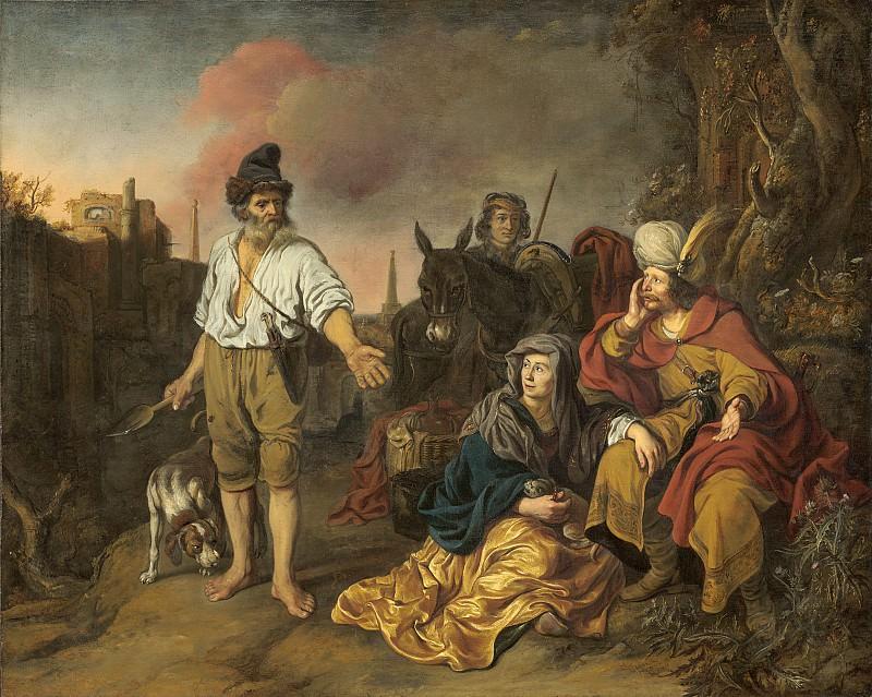 Gerbrand van den Eeckhout - The Levite at Gibeah. National Gallery of Art (Washington)